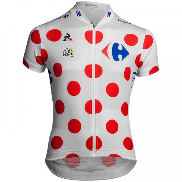 2018 Tour de France Bolletjestrui fietsshirt - Professioneel Wielerteam