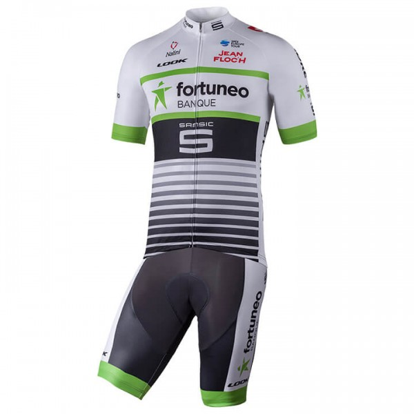2018 TEAM FORTUNEO - SAMSIC Set (2 stukken) - Professioneel Wielerteam