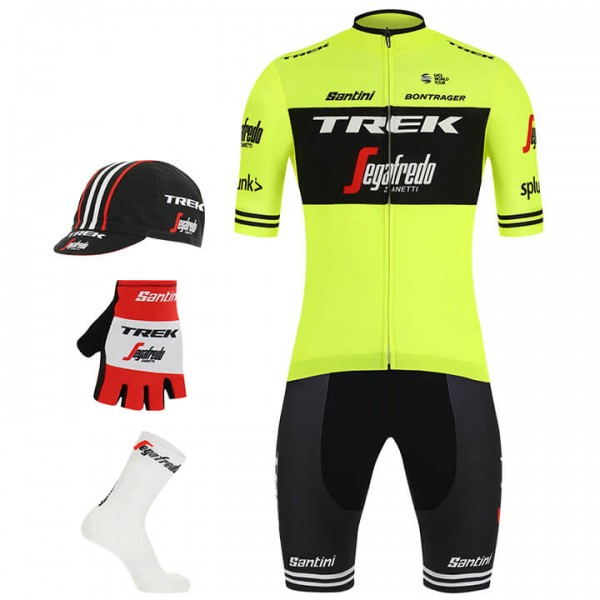 2019 TREK-SEGAFREDO Training Maxi-Set (5 stukken) - Professioneel Wielerteam