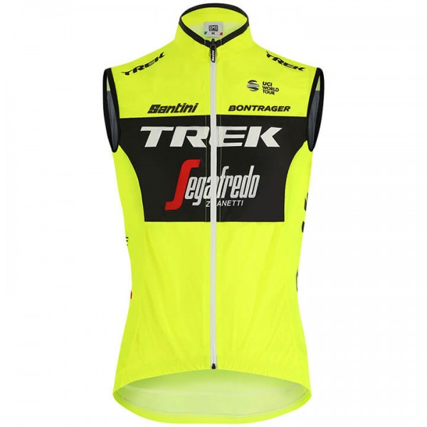 2019 Trek-Segafredo Training windvest - Professioneel Wielerteam