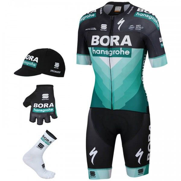 2019 BORA-hansgrohe Pro Light Maxi-Set (5 stukken) - Professioneel Wielerteam